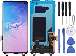 SHUHAN Mobile Phone Replacement Part LCD Screen and Digitizer Full Assembly for Galaxy S10 Display LCD Screen Repair Part ...
