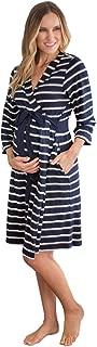 Maternity Super Soft Classic Stripe Maternity Nursing Nightwear, Many Options Available