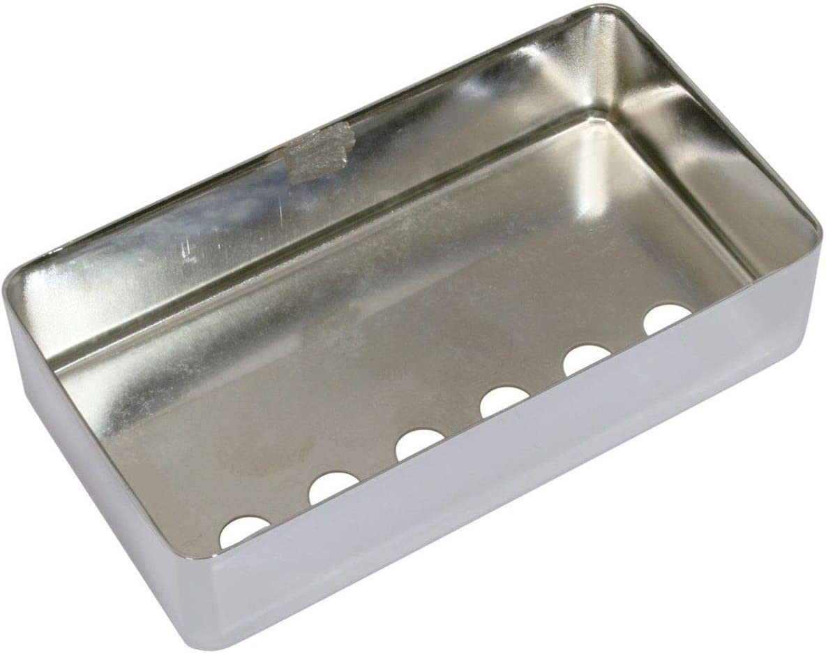 chrome Genuine humbucker pickup cover 48.6mm Courier shipping free shipping DiMarzio spacing fits