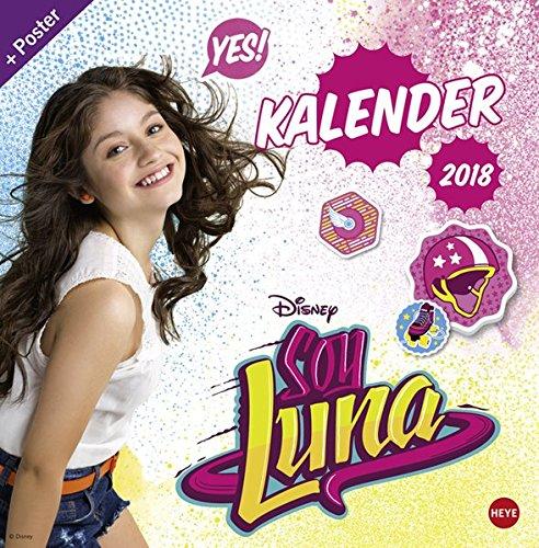 Soy Luna Broschurkalender - Kalender 2018