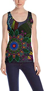 Womens Tank Tops-Relaxed Athletic Workout Sleeveless Shirt (S-2XL)