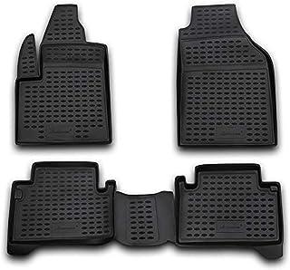 Esteras de goma goma tapices set para 8 plazas Ford Transit Custom a partir del año 12//2012