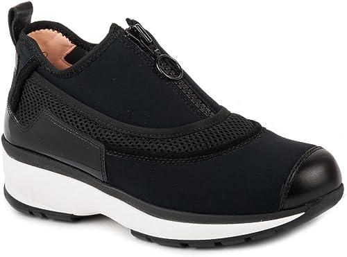Unisa zapatos Slip On mujer Escorpio negro AI17