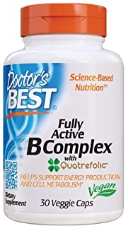 Best Fully Active B Complex, 30 Vcaps by Doctors Best (Pack of 3)