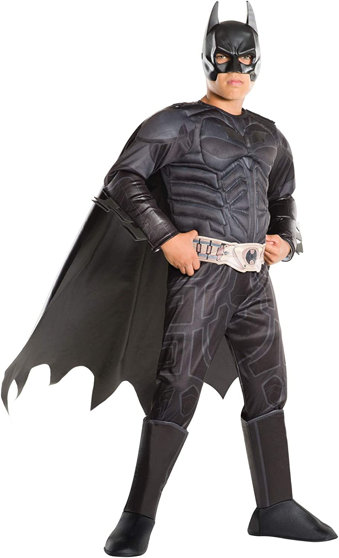 barato y de moda Boys Batman Batman Batman Dark Knight Deluxe Fancy Dress Costume Small  marca famosa