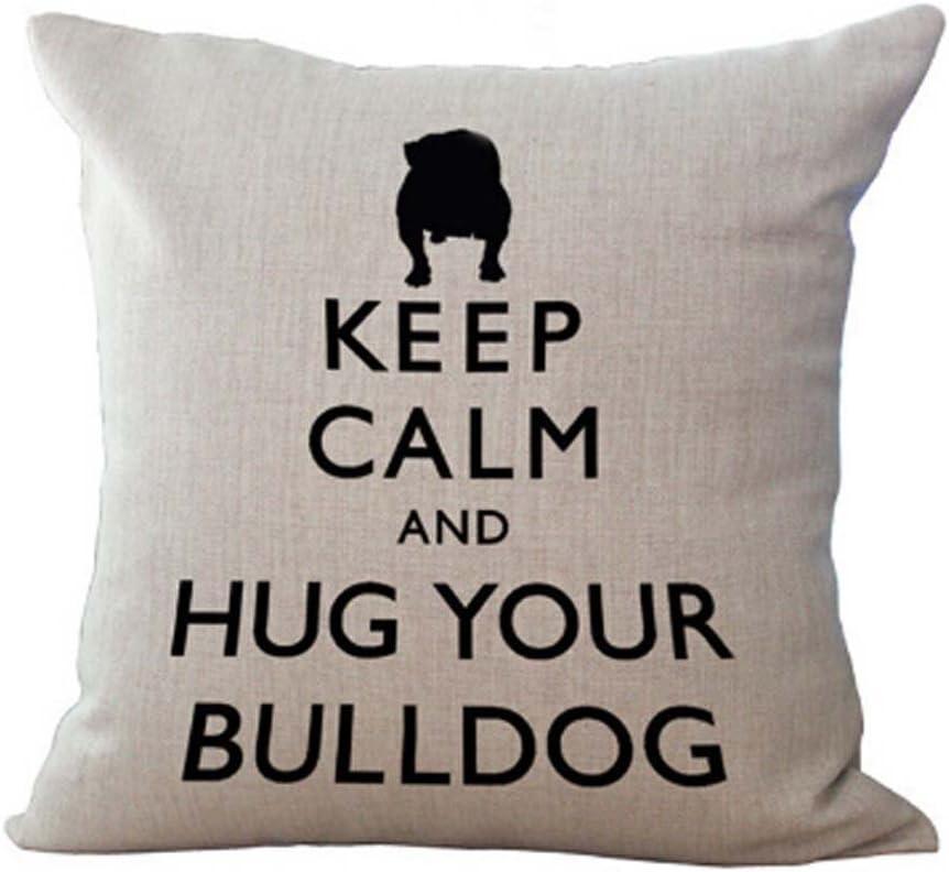 Max 69% OFF FELENIW Animal Pet Dog French In stock Bulldog Throw Cushion Pillow Cover