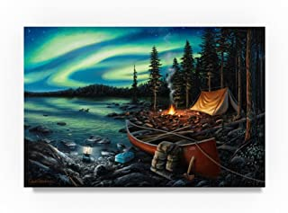 Campfire Memories by Chuck Black, 22x32-Inch Canvas Wall Art