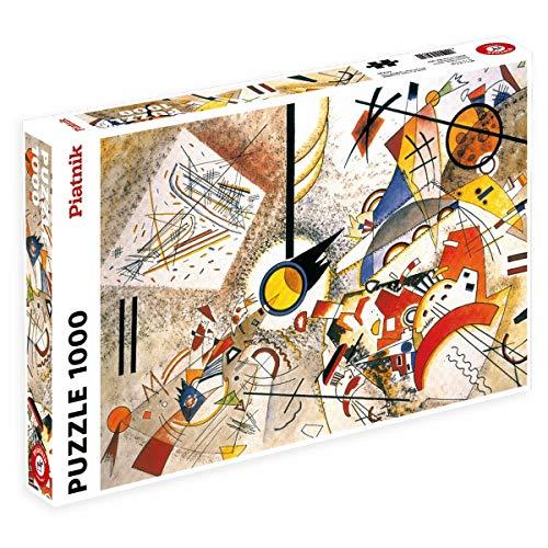 Piatnik 00 5396 5396 - Kandinsky, Bustling Aquarelle - Puzzle