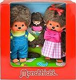 Monchhichi - Sekiguchi 254870 - Familia Set - Madre, Padre y niño