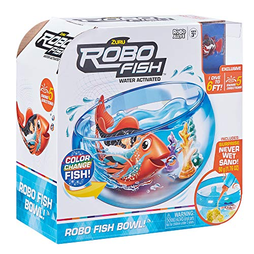 Fish-ZU7126 Robo Aquarium Fish-Playset (Bandai ZU7126)