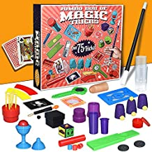 Fricon Magic Toys for 6-10 Year Old Boys, Magic Kit for Kids Age 8-10 Magic Gifts for Kids Party Favor Gifts for Boys Girls 6-10 Year Old KMUSMK01