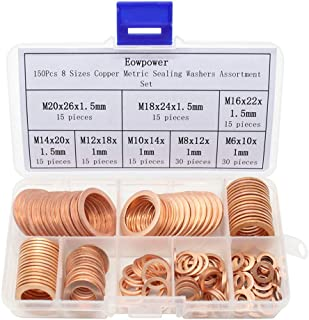 Best metric copper sealing washers Reviews