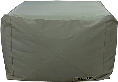 ビーズクッション アーミーキューブチェア Lサイズ カーキグリーン PCM-6517AM