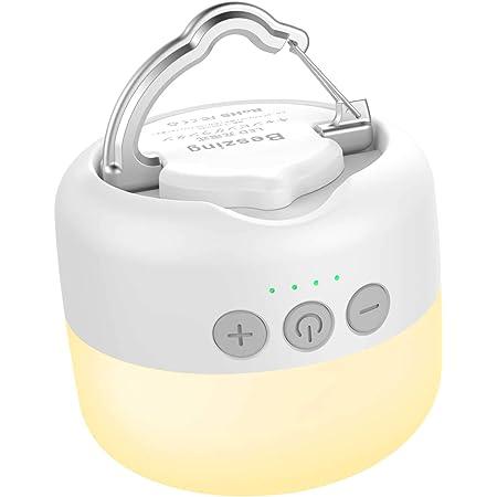 Beszing LEDランタン 充電式 3色切替 無段階調光 光色輝度記憶搭載 5200mAh