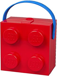 LEGO Hand Carry Box 4 Handle Bright Red
