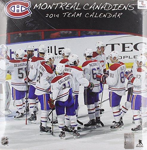 Montreal Canadiens 2014 Team Calendar