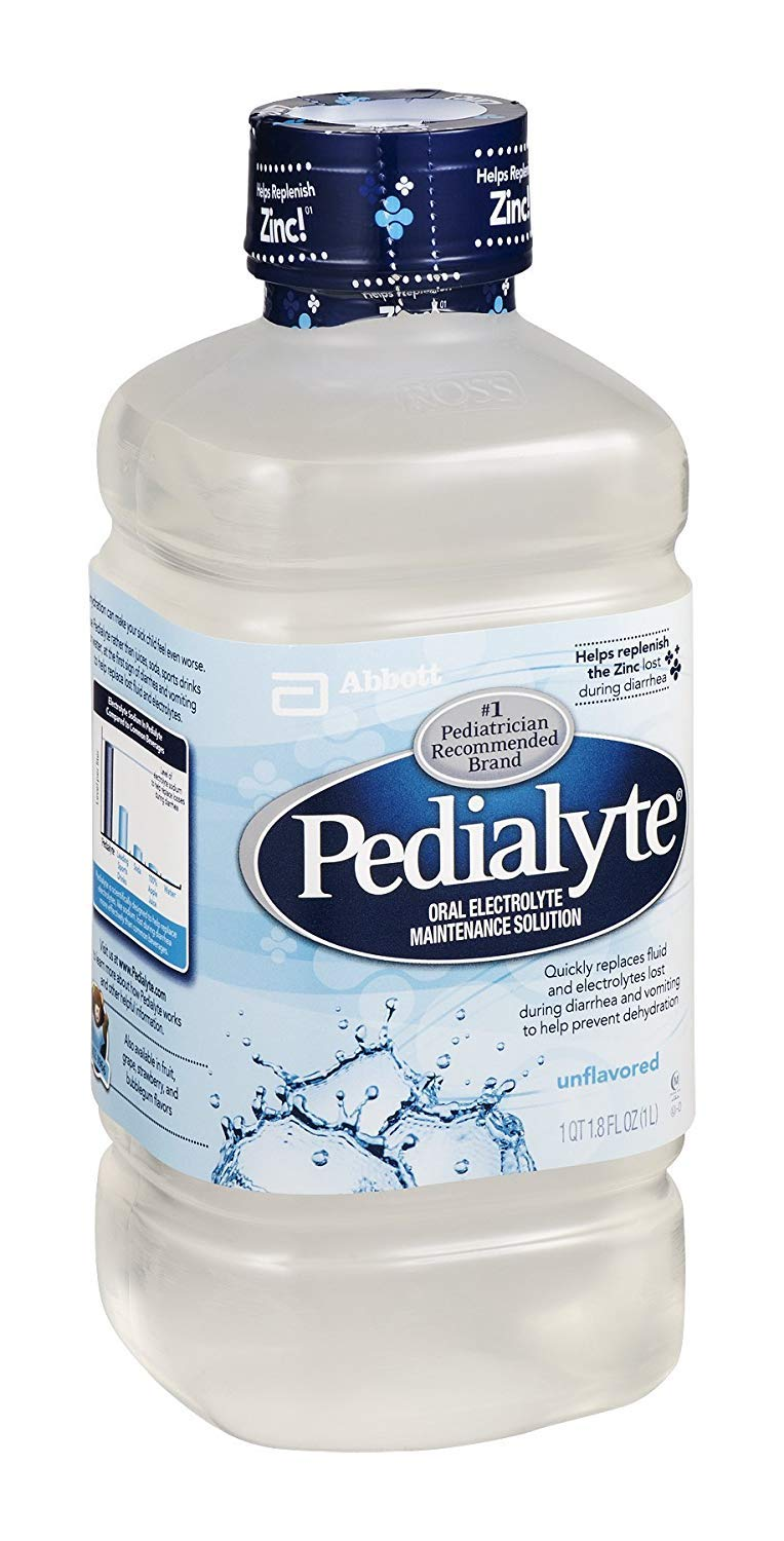 Excellent Pedialyte Oral Electrolyte Unflavored 33.8 16 OZ Pack Max 90% OFF of