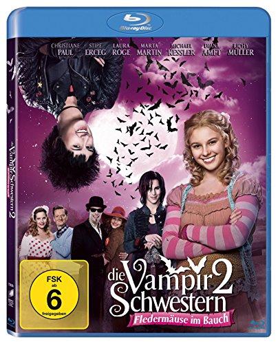 Die Vampirschwestern 2 - Fledermäuse im Bauch [Blu-ray]