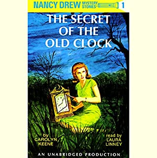 The Secret of the Old Clock audiobook cover art