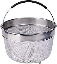 Karryoung KA08 Steamer Basket for Instant Pot, 8 Quart, silver