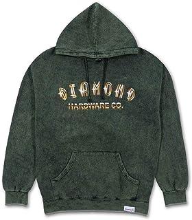 Diamond Supply Co Gold Skull Hoodie Green