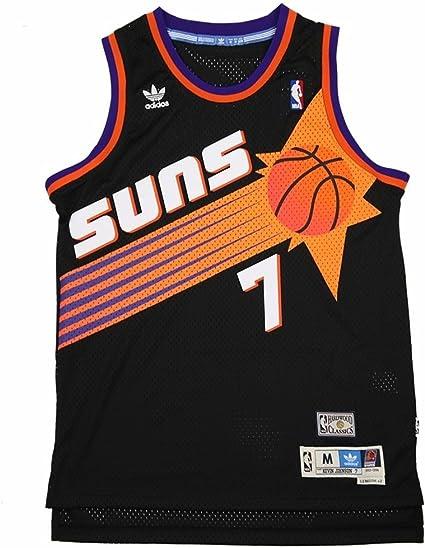 adidas Kevin Johnson Phoenix Suns Black Throwback Swingman Jersey ...