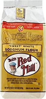 Bobs Red Mill Flour Sweet White Sorghum Gluten Free 22.0 OZ(Pack of 6)