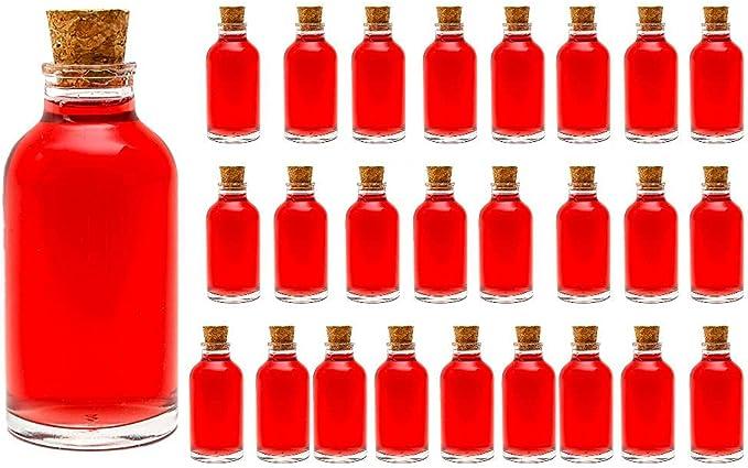 155 opinioni per casavetro 25, 30 o 50 Bottiglie Piccole 100 ML Set Mini TR Farmacista Bottiglie