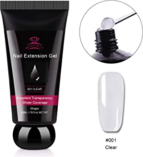 Makartt P-21 Clear Poly Nail Gel 50ML 1.76oz Builder Gel Nail Extension Gel Nail Enhancement