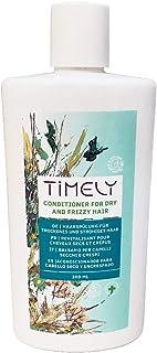 Timely - Acondicionador hidratante y nutritivo para cabellos secos y encrespados, 300 ml