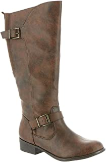 MIA AMORE LOLAA Women's Riding, Color: Chocolate, Size: 9M, Chocolate, Size 9.0