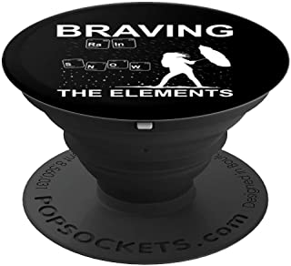 Funny Weather Geek Meteorologist Extreme Weather Gift Idea PopSockets Grip and Stand for Phones and Tablets