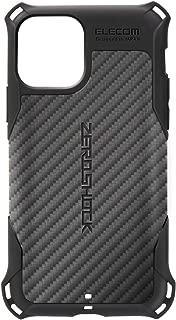 エレコム iPhone 11 Pro ケース ZEROSHOCK TPU素材 衝撃吸収 [落下時の衝撃から本体を守る] ブラック PMWA19BZEROGBK PMWA19BZEROGBK