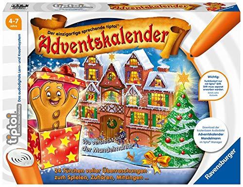 tiptoi® Adventskalender: Wo versteckt sich der Mandelmann?