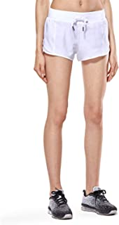 CRZ YOGA Women's Workout Running Shorts Sports Gym Athletic Shorts with Pocket - 2.5 Inches