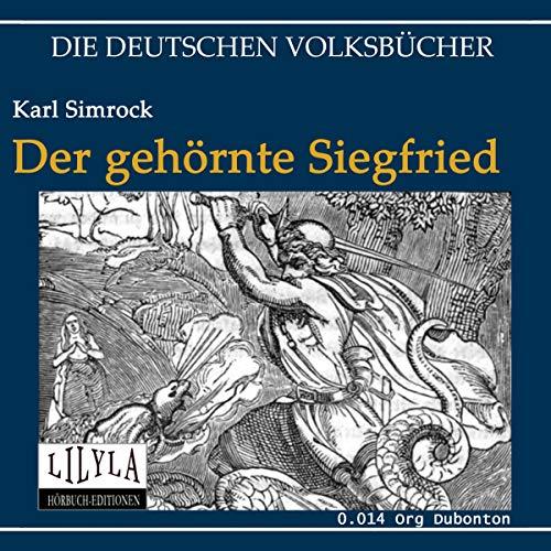 Der gehörnte Siegfried audiobook cover art