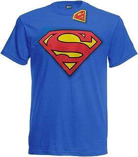 434516113c7a6 T-Shirt du Superman Classic Logo Vintage - Officielle DC Comics