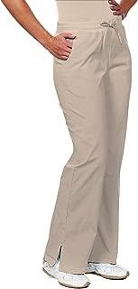 NU Dimension 5008 Plus Size Mid-Rise Stretch Women Flare 3X Scrub Pant