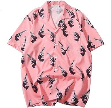 Camisas de Hip Hop Streetwear Camisa Hawaiana para Hombre ...
