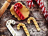 sps marketing Christmas_Candy Cane Cookie Cutter for Kids bakeware Cookie Cutter Bone