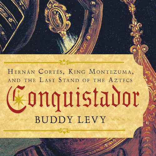 Conquistador audiobook cover art
