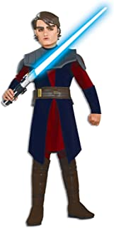 Rubie's Star Wars Clone Wars Child's Deluxe Anakin Skywalker Costume and Mask,  Small