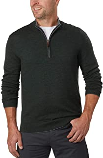Men's Extra Fine Merino Wool ¼ Zip Sweater