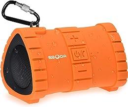 EBODA Waterproof Bluetooth Shower Speaker, Portable IP67 Floating Outdoor Speaker with 6W..