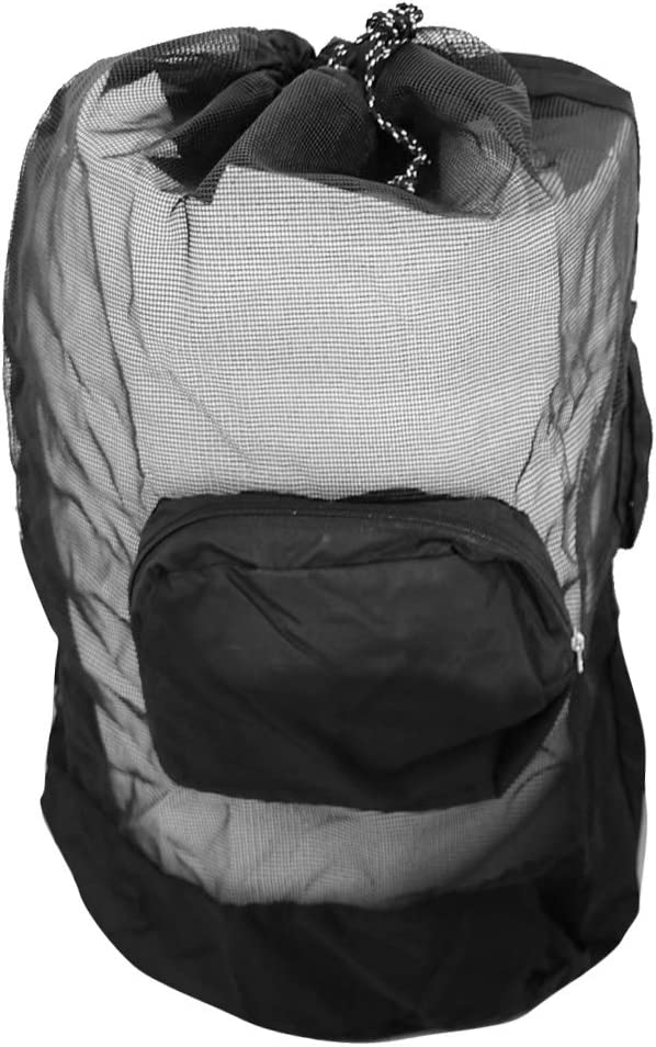 B Baosity Deluxe Mesh Virginia Beach Mall Drawstring Snorkel Year-end gift for Snorke Backpack Bag