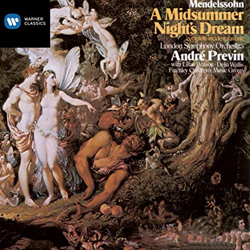 André Previn & Felix Mendelssohn
