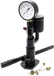 Probador inyectores diesel Comprobación inyectores obstruidos Bomba calibrado inyectores 0-600 bar