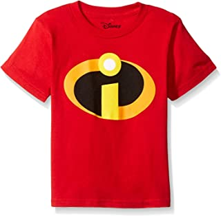 Disney Little Boys` The Incredibles Logo Costume T-Shirt
