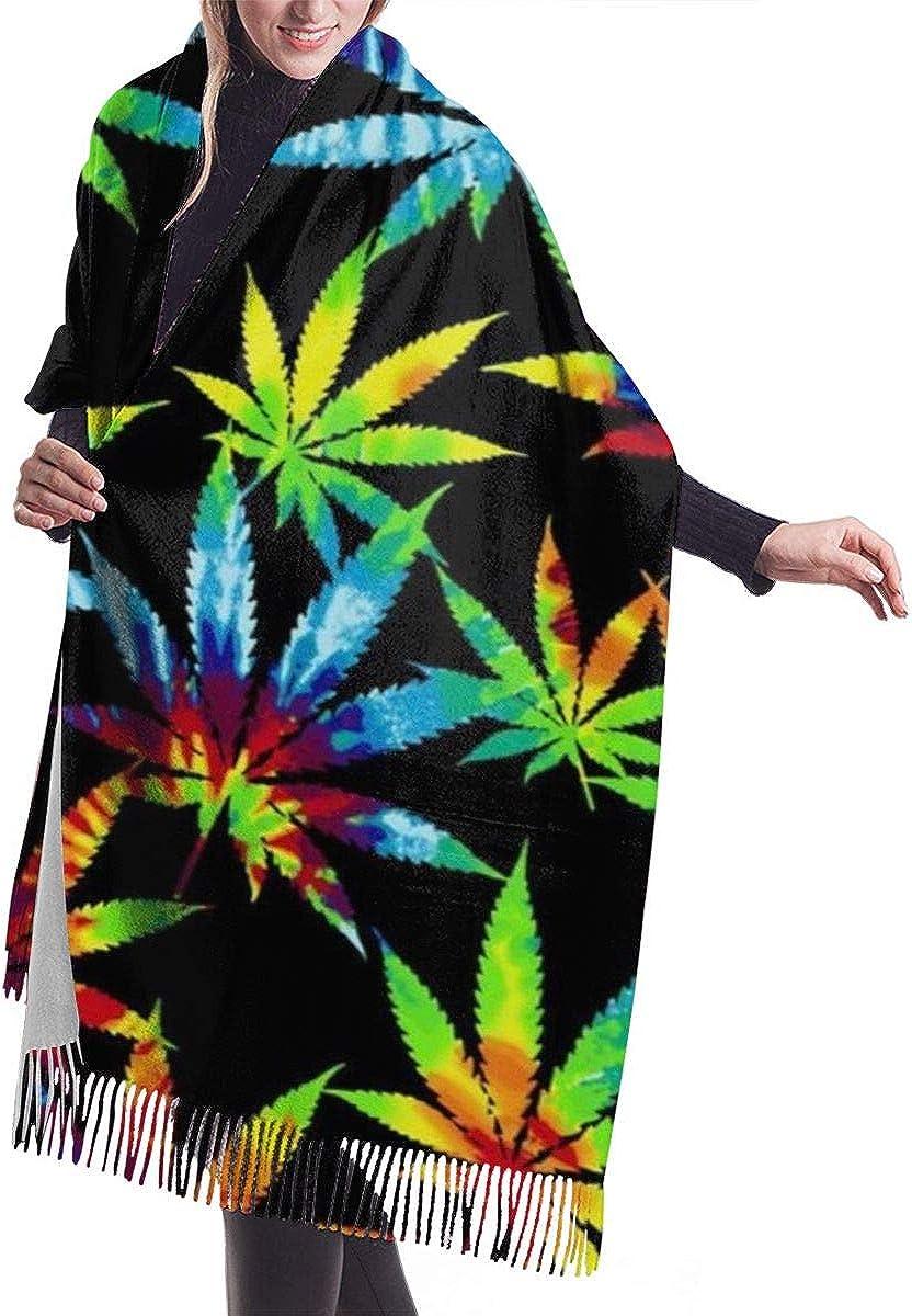 Cashmere Feel Large Scarves, Pashmina Wraps Shawl Stole Blanket Travel Scarf