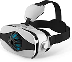 "3D VR Headset/Glasses, Tsanglight VR Virtual Reality Goggles w/Fans for 3D IMAX Movie/Game for Samsung Galaxy Note 8 S9 S8 S7 S6 Edge, iPhone 9 X 8 7 6S 6 Plus New Phone & Other 4.0-6.33"" Cellphone"